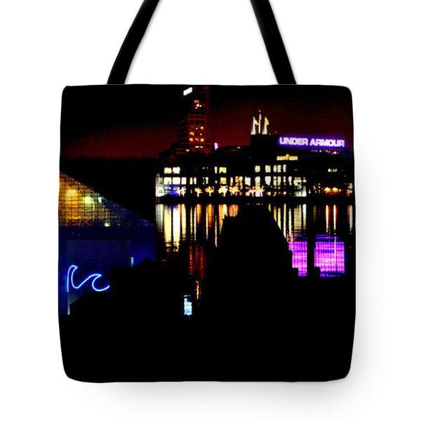 Baltimore Night Mosaic Tote Bag