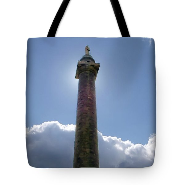 Tote Bag featuring the photograph Baltimore's Washington Monument by Brian Wallace