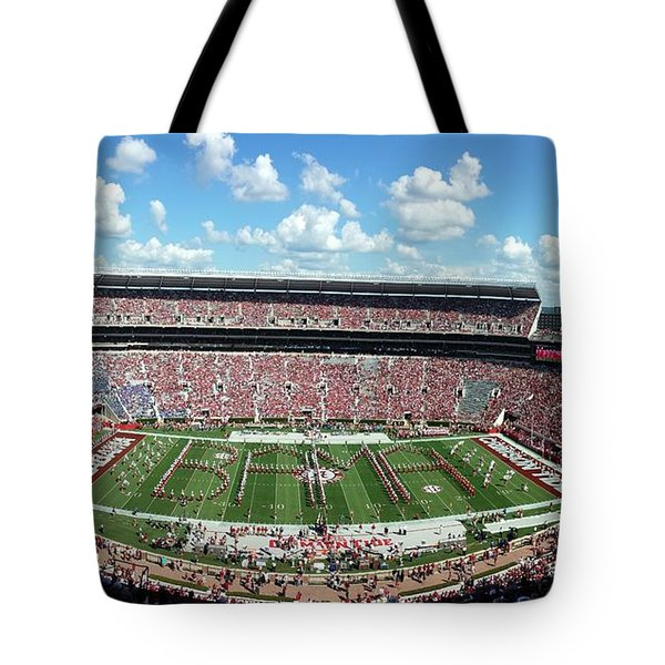 Bama Spell-out Panorama Tote Bag