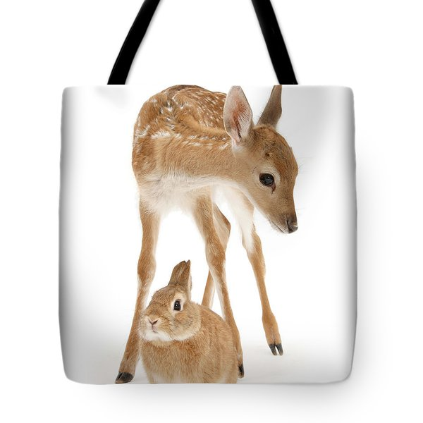 Bambi And Thumper Tote Bag