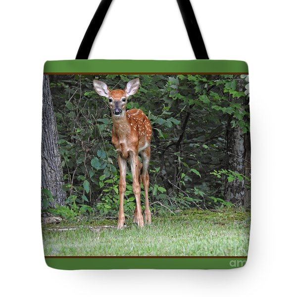 Tote Bag featuring the photograph Bambi by Brenda Bostic