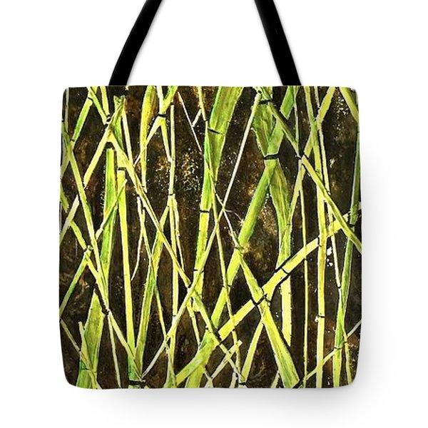 Bambo Garden Tote Bag by Shabnam Nassir
