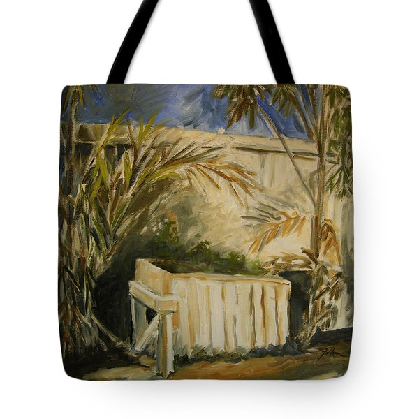Bamboo And Herb Garden Tote Bag