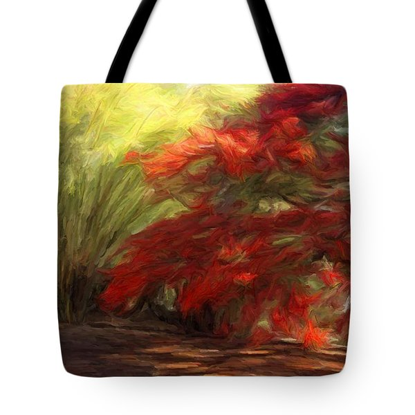 Bamboo And The Flamboyant Tote Bag
