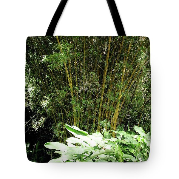 F8 Bamboo Tote Bag by Donald k Hall