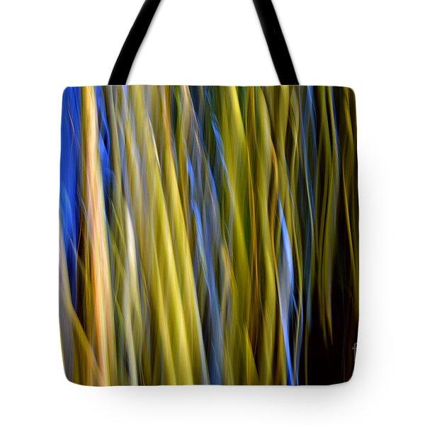 Bamboo Flames Tote Bag