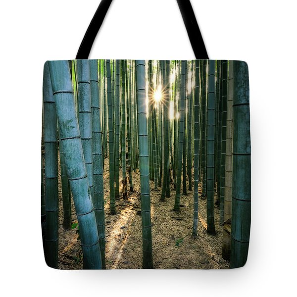 Bamboo Forest At Arashiyama Tote Bag