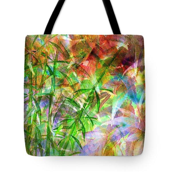 Bamboo Paradise Tote Bag