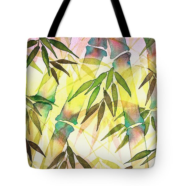 Bamboo Sunrise Tote Bag