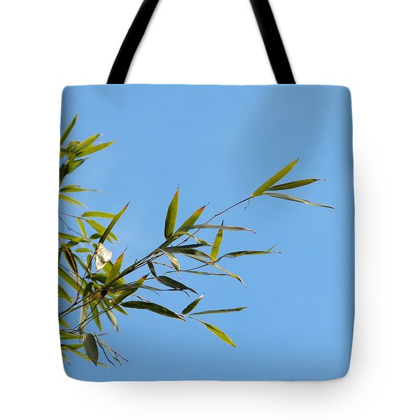 Bambous Au Ciel Tote Bag