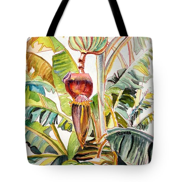 Banana Bloom Tote Bag