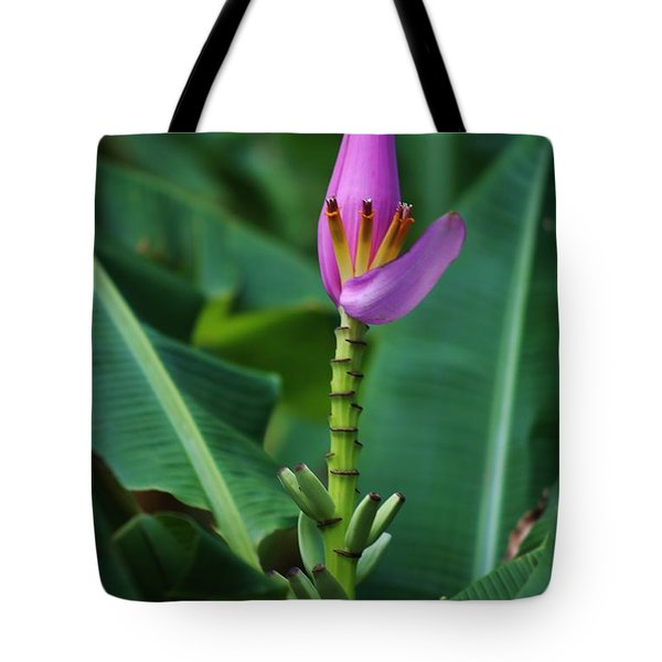 Tote Bag featuring the photograph Banana Blossom by Craig Wood