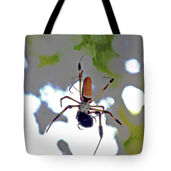 Banana Spider Lunch Time 1 Tote Bag