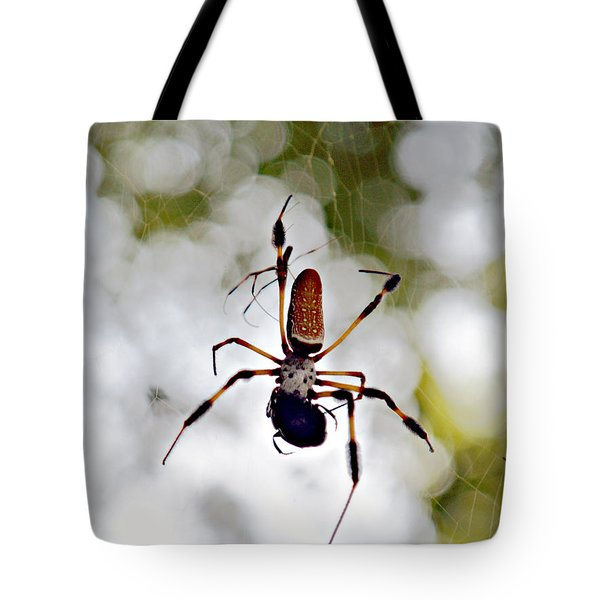 Banana Spider Lunch Time 2 Tote Bag