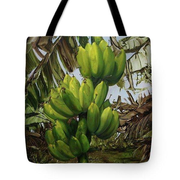 Banana Tree Tote Bag by Chonkhet Phanwichien