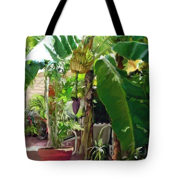 Banana Tree Tote Bag