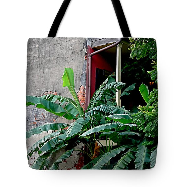 Bananas And Bricks Tote Bag