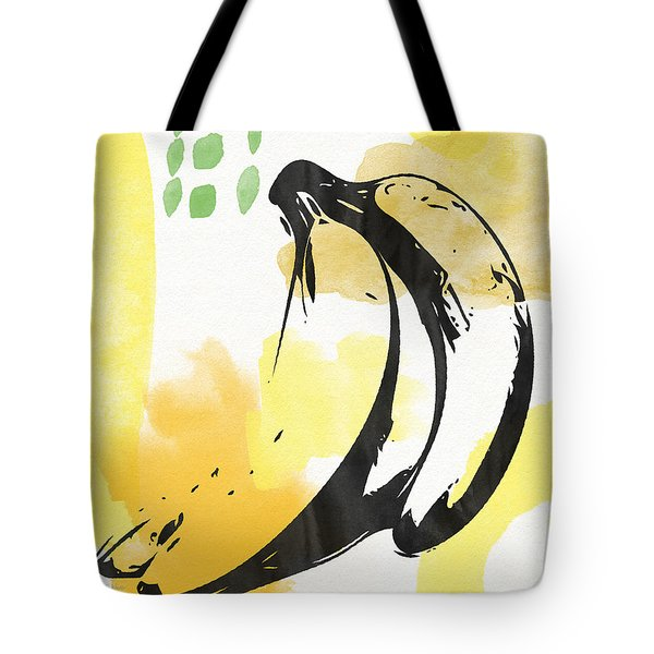 Bananas- Art By Linda Woods Tote Bag