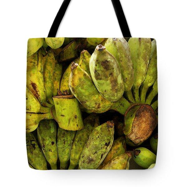 Bananas At Market Tote Bag