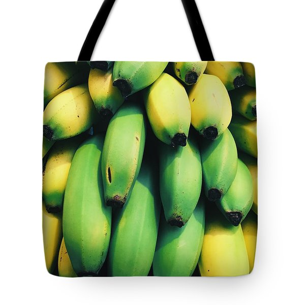 Bananas Tote Bag by Happy Home Artistry