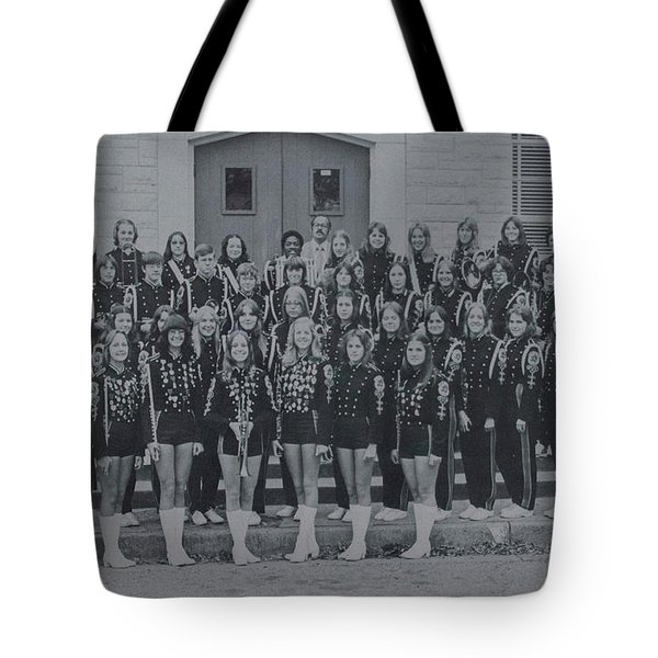 Band After Fire 76 Tote Bag