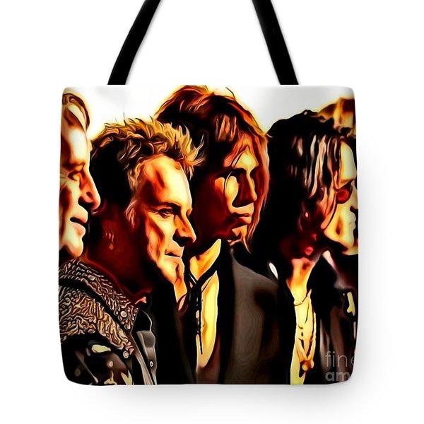 Band Who Tote Bag