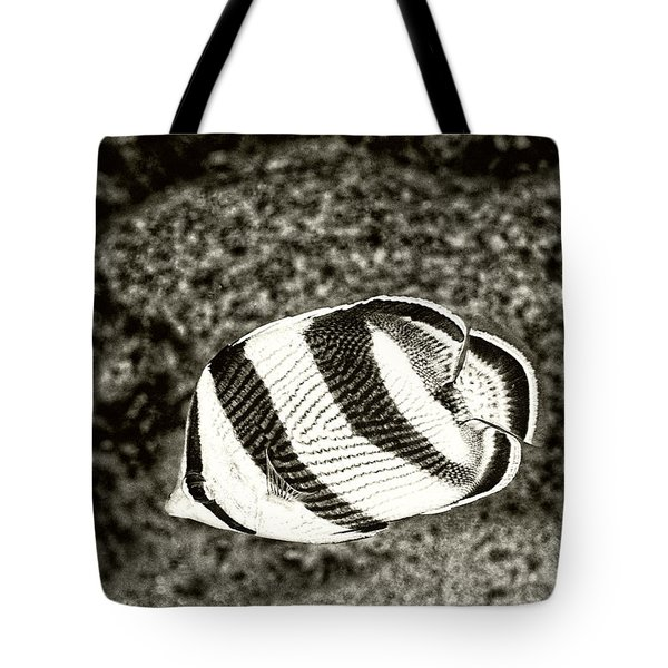 Banded Butterflyfish Tote Bag