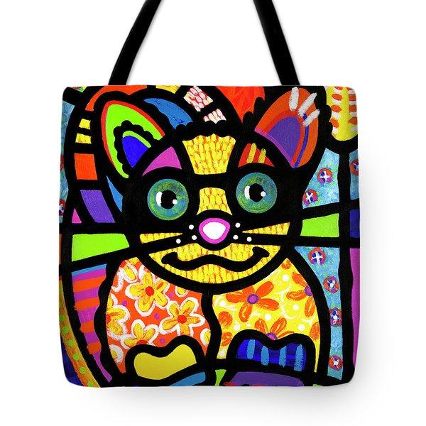 Bandit The Lemur Cat Tote Bag