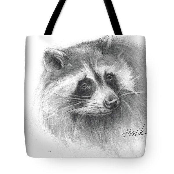 Bandit The Raccoon Tote Bag