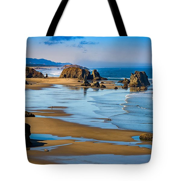 Bandon Beach Tote Bag