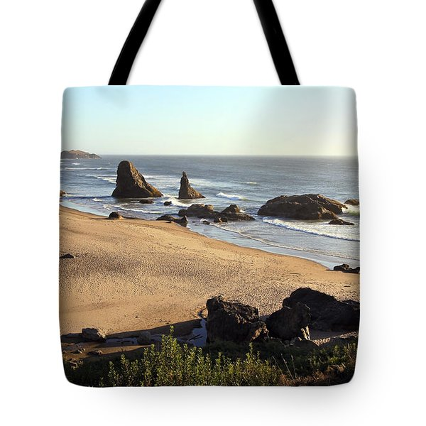 Bandon Beachfront Tote Bag
