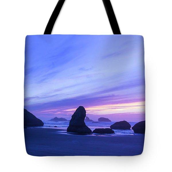 Bandon Blue Hour Tote Bag