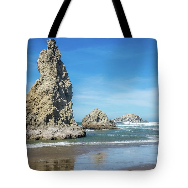 Bandon Rocks Tote Bag