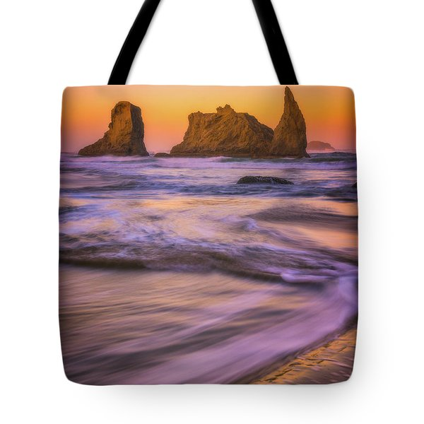 Tote Bag featuring the photograph Bandon's Breath by Darren White