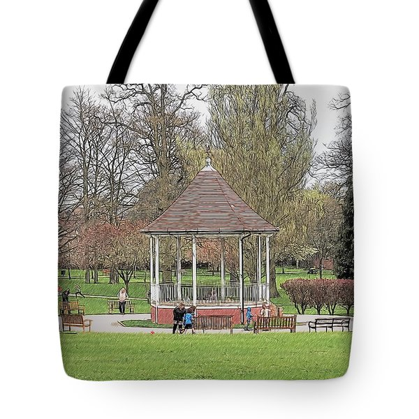 Bandstand Games Tote Bag