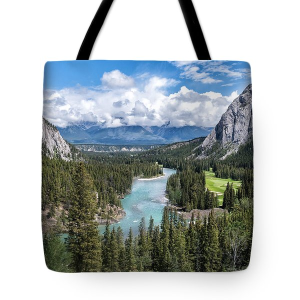 Banff - Golf Course Tote Bag