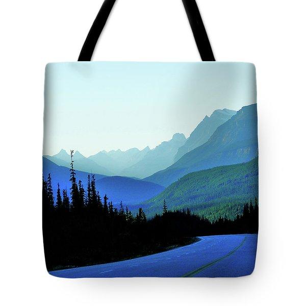 Banff Jasper Blue Tote Bag
