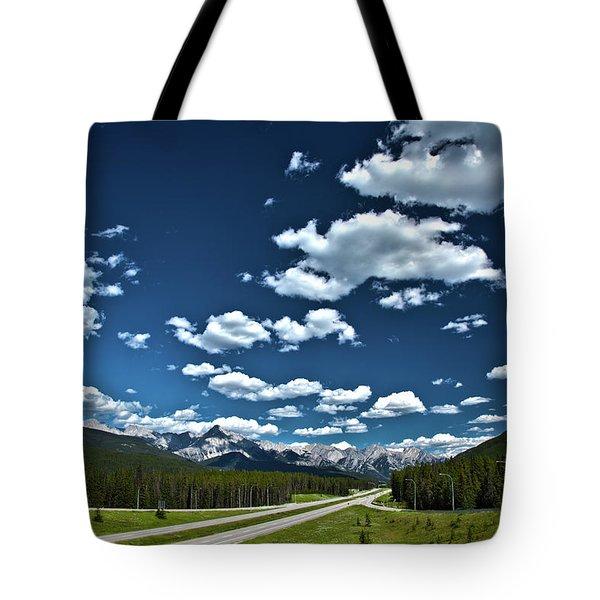 Banff Junction Tote Bag