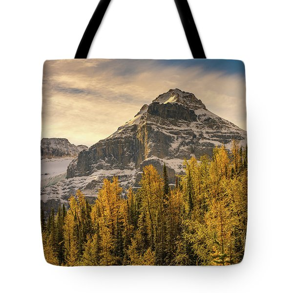 Banff Larch Valley Autumns Serenity Tote Bag