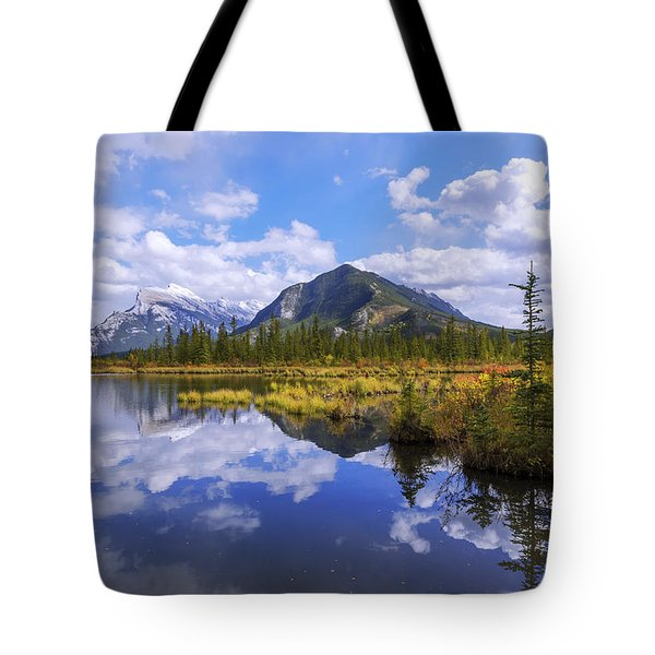 Banff Reflection Tote Bag