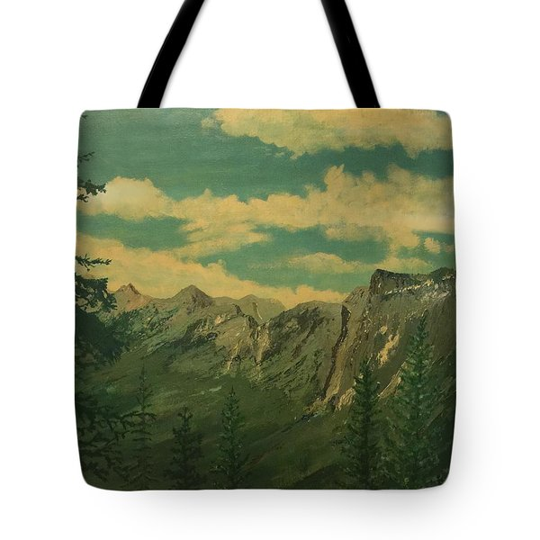 Banff Tote Bag by Terry Frederick