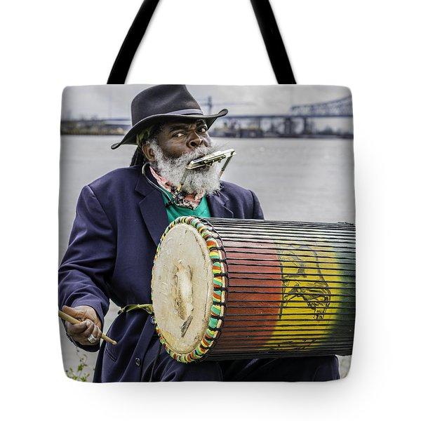 Bang That Drum Tote Bag