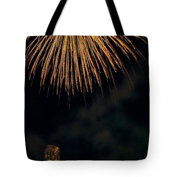 Bangkok Fireworks Tote Bag