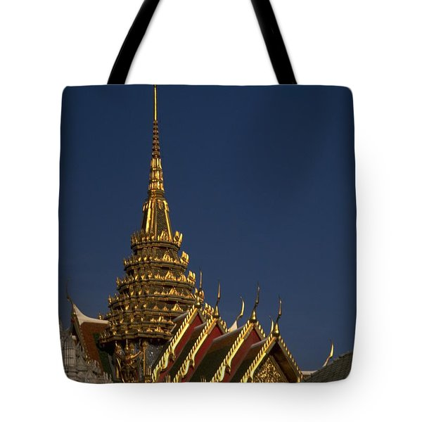 Bangkok Grand Palace Tote Bag