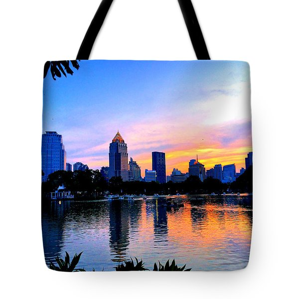 Bangkok Tote Bag by Julita Pietrzyk