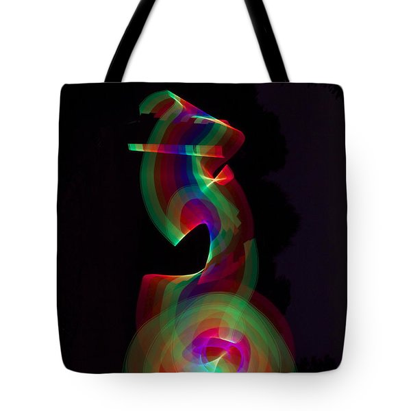 Tote Bag featuring the photograph Banished By Light by Xn Tyler
