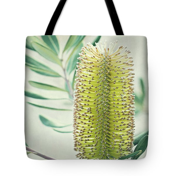 Tote Bag featuring the photograph Banksia by Linda Lees