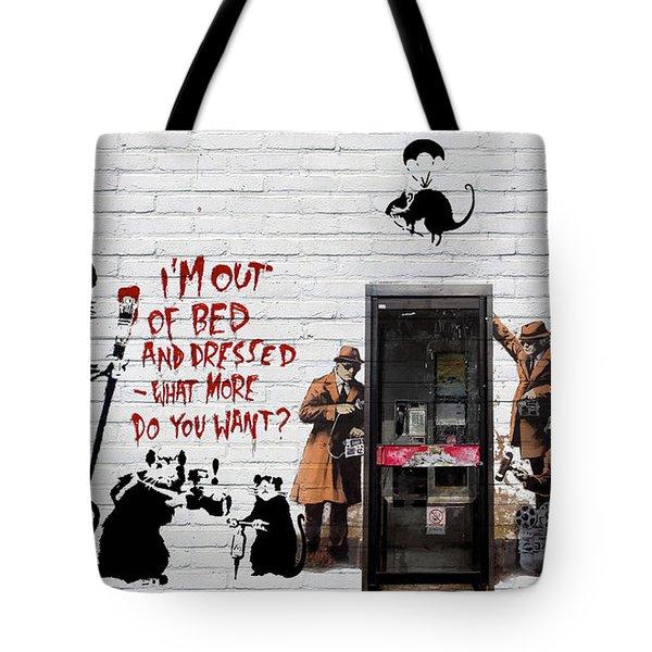 Banksy - The Tribute - Rats Tote Bag