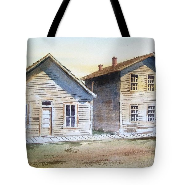 Bannack Ghost Town Montana Tote Bag by Kevin Heaney