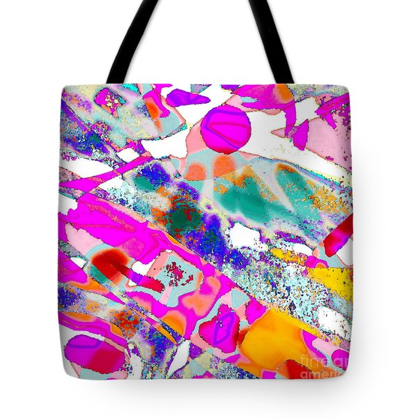 Banner In The Breeze Tote Bag by Expressionistart studio Priscilla Batzell
